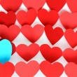 Blue Heart — Stock Photo