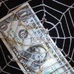finansowych sieci web — Zdjęcie stockowe