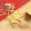 Stock Photo: Grated Cheese