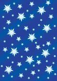 Stars in the sky — Stock Vector