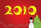Fanny New Year — Stock Vector