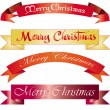 Stock Vector: Headline Merry Christmas