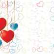 Royalty-Free Stock Vektorfiler: Valentine Background1