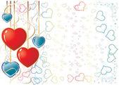 Valentine Background1 — Stock Vector