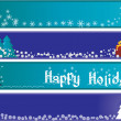 Christmas banners — Stock Vector #1283547