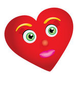 καρδιά-γυναίκα — Διανυσματικό Αρχείο