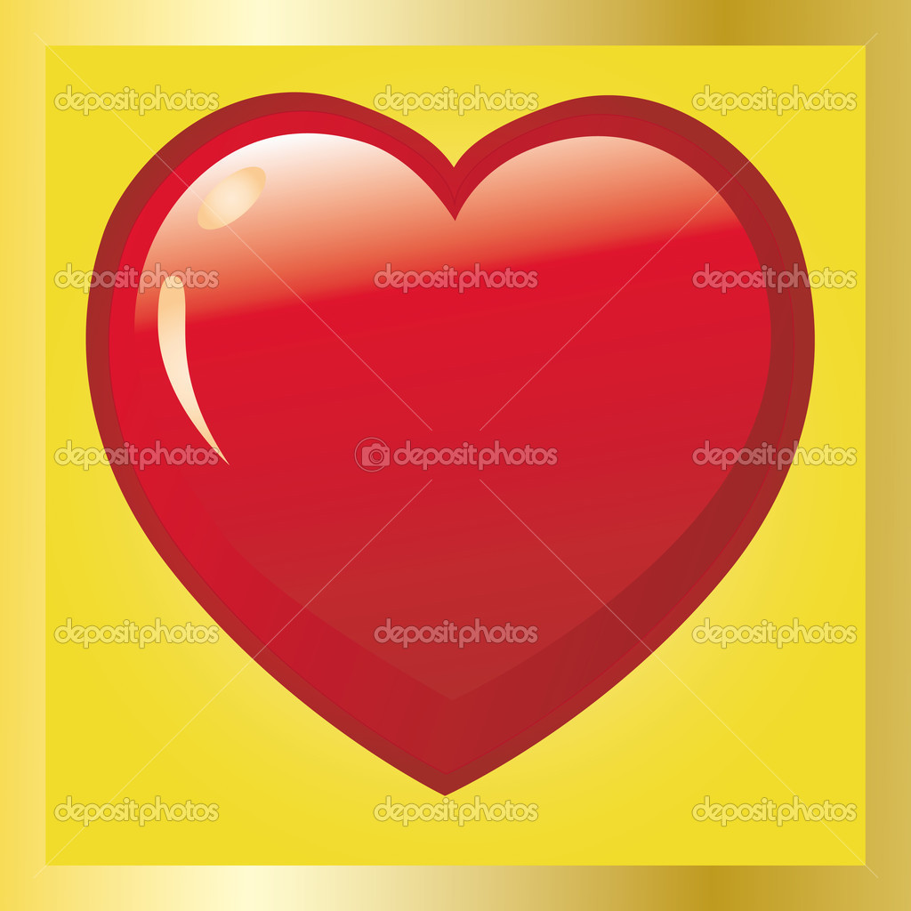 Valentine card, vector illustration, see more at my portfolio — Stock Vector #1372495