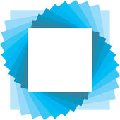 Telón de fondo cuadrado para la foto — Vector de stock