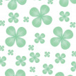 Stock Vector: Clover backdrop