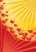Valentine background 21 — Stock Vector