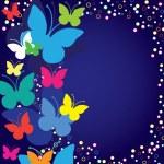 Blue butterflies — Stock Vector #2184534