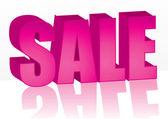 Pink Sale — Stock Vector