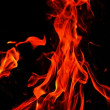 Flame background — Stock Photo