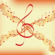 Royalty-Free Stock Vector Image: Musical