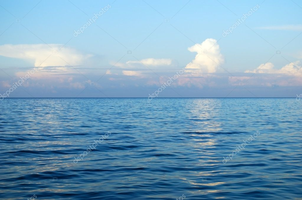 Sea and cloud landscape — Stock Photo #2379603