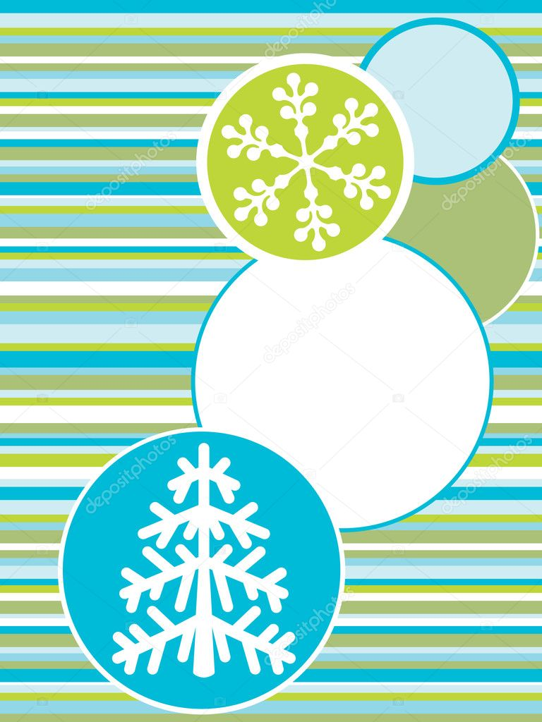 Holiday backgrounds. christmas card. Vector — Vettoriali Stock  #2556587