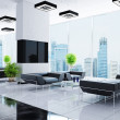 Modern interior of a hall — Stock Photo #1036396