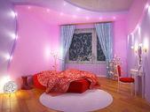 Interior de una habitación para la niña — Foto de Stock