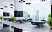 Moderno interior de una sala — Foto de Stock