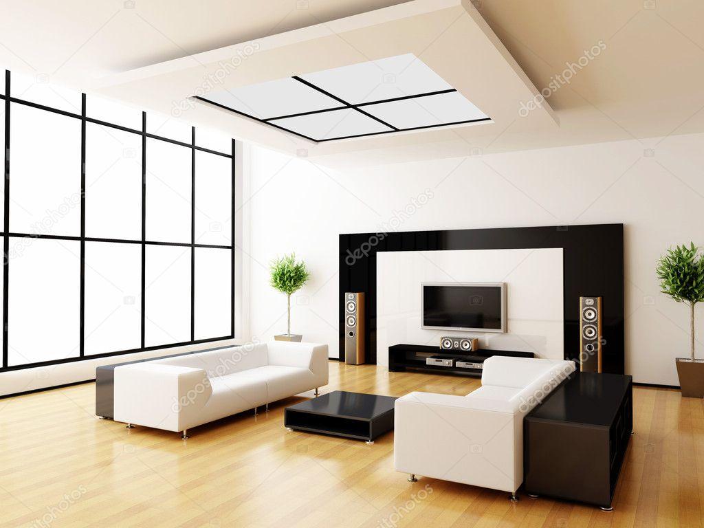 Moderne interieur van een kamer — stockfoto © rashch #1036381
