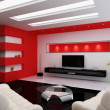 Стоковое фото: Modern interior of a room
