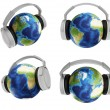 The world of music — Stock Photo