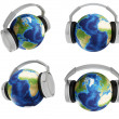 Stock Photo: World of music
