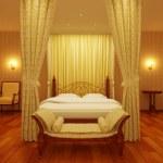 Classical sleeping room — Stock Photo