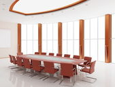 Interior of a conference of a hall — Stock Photo
