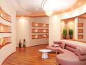 Interior moderno de un vestíbulo — Foto de Stock