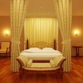 Dormitorio clásico — Foto de Stock