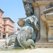 Bologna Fountain Neptune - Stock Photo