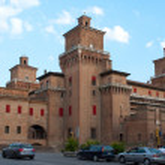 Постер, плакат: Castle in Ferrara