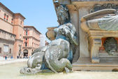 Bologna Fountain Neptune — Stock Photo