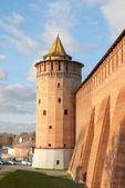 Tower of the Kremlin in Kolomna — Stock Photo
