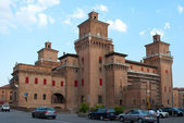 Castle in Ferrara — Stock Photo