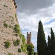 Tower of the castle in Gradara — Stock Photo