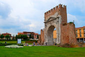 Italy. Rimini. Arch of Augustus — Stock Photo