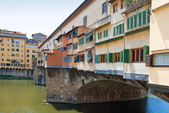 The Ponte Vecchio — Stock Photo