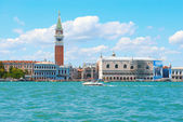 View of Venice from the sea — Stock Photo