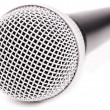 Microphone closed up - Stock Photo