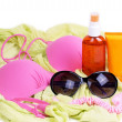 Stock Photo: Beach accessories