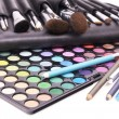 Tools for make-up artists - Stok fotoğraf