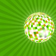 Mirror ball illustration — Stockfoto