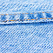 Jeans's seam — Stock Photo