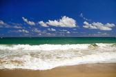 Dominican coastline — Stock Photo