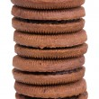 Stack of cookies — Stock Photo