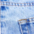 Stock Photo: Part of blue jeans