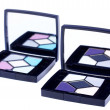 Lux eyeshadows with mirror - Stok fotoğraf
