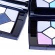 Two eyeshadows with mirror - Stock Photo